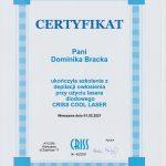 certyfikat criss Doma